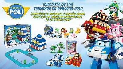 Concurso ¡Gana fantásticos premios con el quiz de Robocar Poli!
