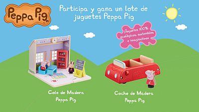 Concurso ¡Es hora de volver al cole con Peppa Pig y sus amigos!