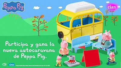 Concurso ¡Participa y gana la nueva autocaravana de Peppa Pig!