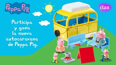 Concurso ¡Participa  y gana la nueva autocaravana Peppa Pig!