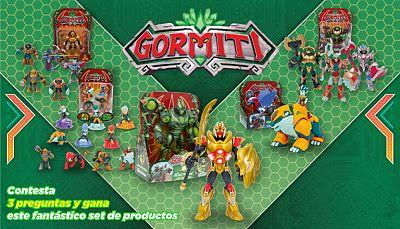 Concurso Quiz Gormiti...¡gana la batalla y consigue tus juguetes favoritos!