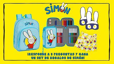 Concurso ¡Resuelve el quiz de Simón y consigue su fantástico kit escolar!