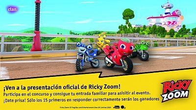 Concurso ¡Ricky Zoom y sus amigos te invitan a su presentación oficial!