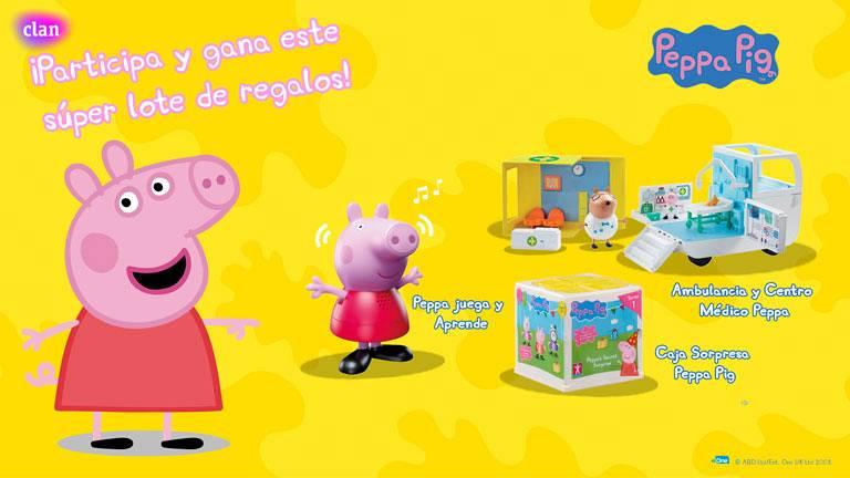 Concurso ¡Juega y aprende con Peppa Pig!