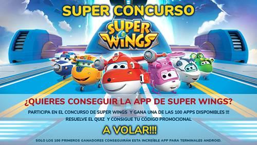 Concurso ¡Participa y gana uno de los 100 códigos para disfrutar gratis de la nueva app Super Wings!