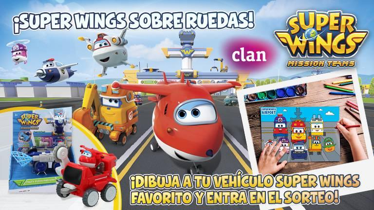 Concurso ¡Super Wings sobre ruedas!