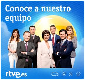 El equipo de El tiempo - Rtve.es