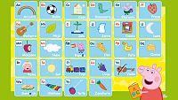¡Aprende el alfabeto con Peppa!