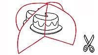 Construye el pastel del Día de la Madre