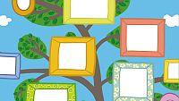 Construye tu árbol de familia con Peppa