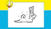 Dibujando al...caracol