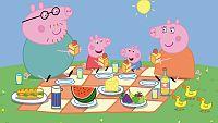 Encuentra la comida para el picnic de Peppa