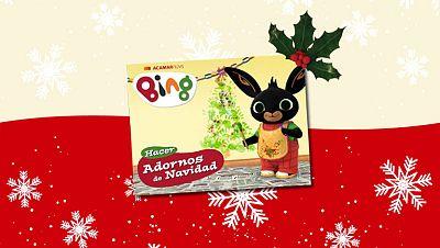 Los adornos de Navidad de Bing