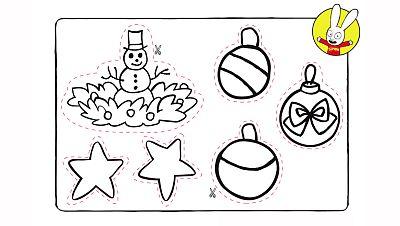 Adornos navideños de Simón 1