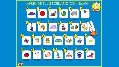 Aprende el abecedario con Simón