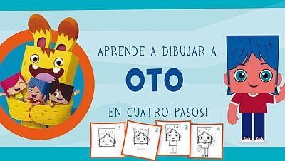 ¡Aprende a dibujar a Oto en 4 pasos!