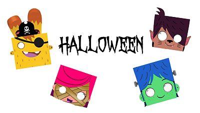 Caretas de Halloween de Yoko