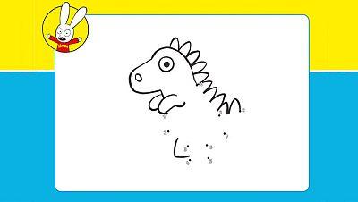 Dibujando a...la cría de dinosaurio