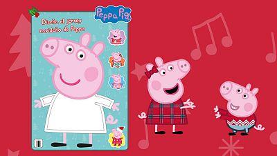Diseña el jersey de Navidad de Peppa Pig