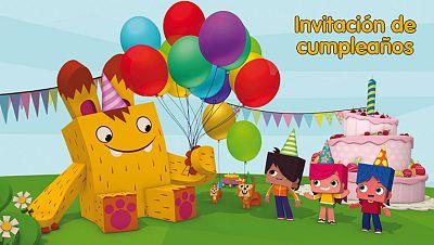 Invitación de cumpleaños de Yoko