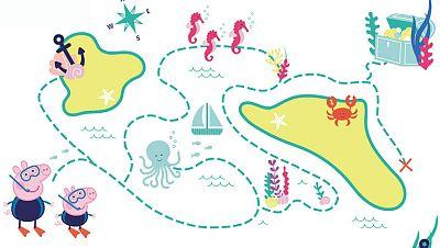 El laberinto del océano de Peppa Pig