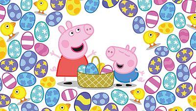 Peppa y los huevos de pascua