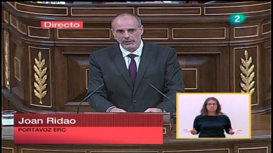 Debate del estado de la nación 2011 - ERC, IU, ICV