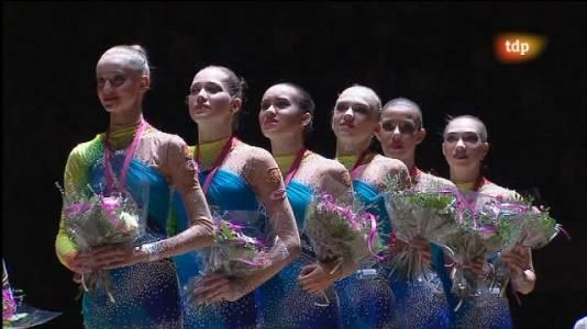 Gimnasia rítmica - Campeonato del mundo: Final aparatos equipos, 5 pelotas - 25/09/11