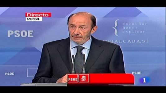 Comunicado de ETA: Rubalcaba -Rajoy