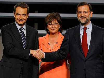 Segundo debate entre Zaparo y Rajoy