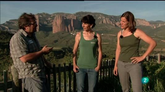 Con Cecilia Buil y Elena de Castro