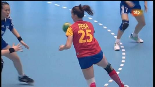 Mundial femenino: Corea-España