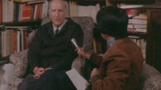 Con Vicente Aleixandre (1977)