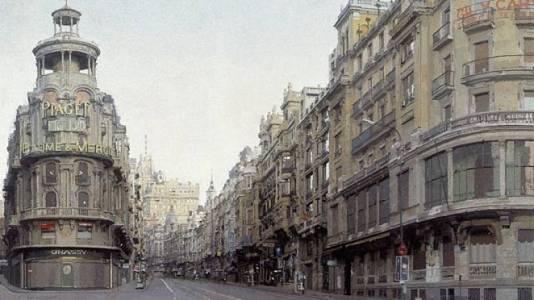 La Gran Vía, por Antonio López