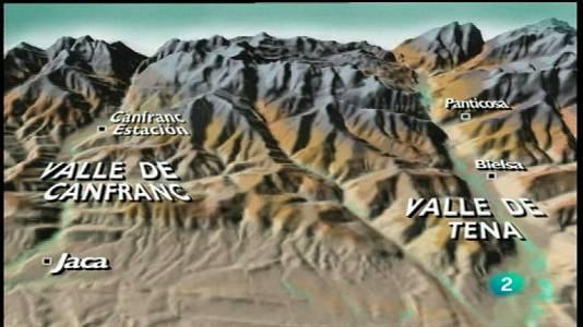 Pirineos, aludes y torrentes
