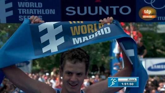 Triatlón - Series ITU. Campeonato del mundo masculino