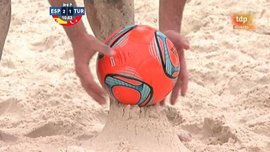 Copa Mundo 2013. España - Turquía