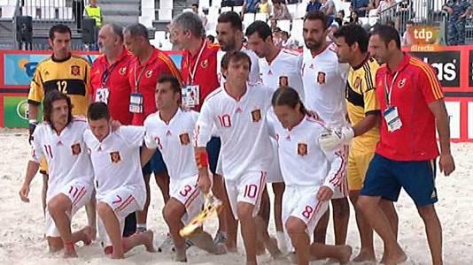 Copa del Mundo 2013: España-Italia