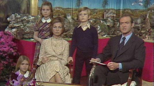 Mensaje de Navidad de Su Majestad el Rey de 1975