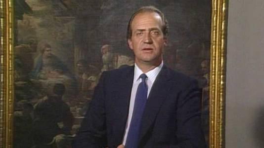 Mensaje de Navidad de Su Majestad el Rey de 1985