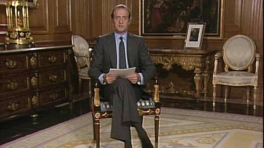 Mensaje de Navidad de Su Majestad el Rey de 1986