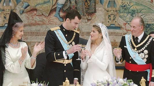 Resumen de la boda de los príncipes de Asturias