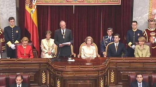 Discurso de Apertura de las Cortes Generales (03/05/2000)
