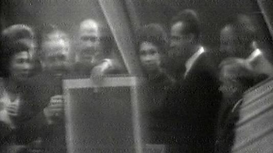 Viaje a Estados Unidos invitados por el Presidente Nixon 1971