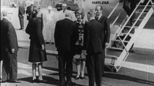 Viaje a la República Federal Alemana como Príncipes 1972