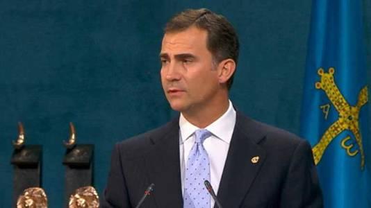Discurso del Príncipe en los premios Príncipe de Asturias 2011