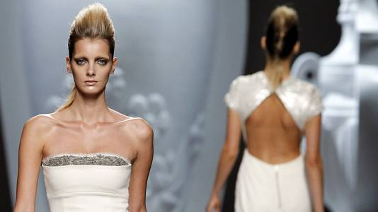 Desfile de Ana Locking - Fashion Week Madrid primavera-verano 2013