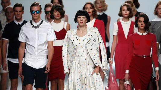 Fashion Week Madrid Cibeles - Davidelfin gana el premio L'Oréal a la mejor colección