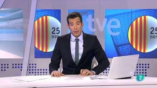 L'informatiu vespre - Bloc Eleccions 25N - 23/11/12