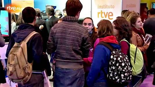 El instituto RTVE enseña su oferta formativa en AULA